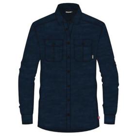Aclima LeisureWool Reborn Wool Shirt Women, blauw